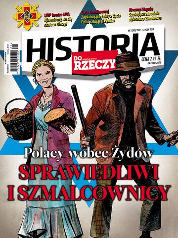 """Okładka miesięcznika """"Historia Do Rzeczy"""" nr 1/2018 (59)"""