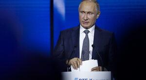 """Putin zagroził, że Rosja """"w razie potrzeby"""" jest w stanie zaatakować..."""